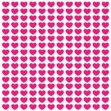 Różowa miłości pocztówka Obrazy Royalty Free