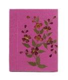 Różowa morwowa papierowa książka Fotografia Royalty Free