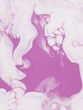 Różowa ręka malujący abstrakcjonistycznej sztuki tło Zdjęcie Stock