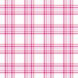 różowa szkocka krata Obraz Stock