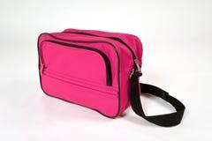 Różowa torba Fotografia Royalty Free