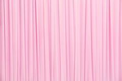 Różowa zasłony tekstura Zdjęcia Stock