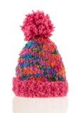 Trykotowa zimy czapeczka obrazy royalty free
