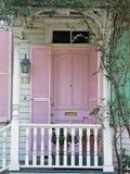 różowe drzwi fotografia royalty free