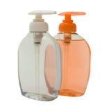 różowe mydło miękkie white fotografia stock