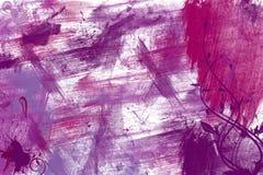 różowe purpury bryzgają ścianę Fotografia Royalty Free
