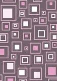 różowe retro kwadraty royalty ilustracja