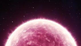 różowe słońce zdjęcie wideo