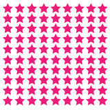 różowe tło gwiazdy Obrazy Royalty Free