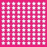 różowe tło gwiazdy Obraz Royalty Free