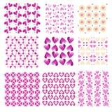 Różowe tafluje kierowe tekstury Obrazy Stock