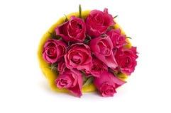 różowe wiązek róże fotografia royalty free