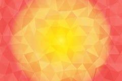 Różowego koloru niski poli- tło Obraz Royalty Free