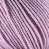 Różowej wełny niciany balowy makro- zbliżenie Zdjęcia Royalty Free