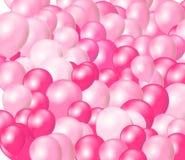 Różowi Balony Zdjęcia Stock
