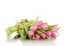 różowi Easter tulipany obrazy royalty free