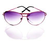 różowi okulary przeciwsłoneczne Zdjęcia Royalty Free