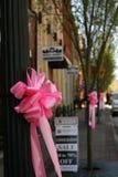 Różowy łęk Zdjęcie Stock