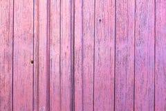 różowy ścienny drewno Fotografia Royalty Free