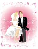 różowy życia Zdjęcia Royalty Free