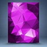 Różowy abstrakcjonistyczny szablon Fotografia Stock