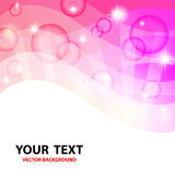Różowy abstrakcjonistyczny tło. Obraz Stock