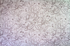 Różowy adamaszkowy bezszwowy kwiecisty deseniowy tło Obrazy Stock