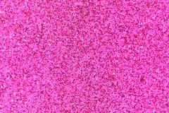 Różowy błyskotliwości tekstury abstrakta tło Obrazy Stock