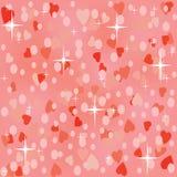 Różowy błyszczący bezszwowy tło ilustracja wektor