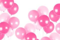 różowy balon stron zdjęcia royalty free