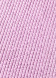 Różowy bawełny kołderki tekstury tło Fotografia Royalty Free