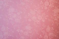 Różowy bezszwowy kwiecisty deseniowy fotografia strzał Zdjęcie Stock