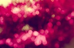 Różowy bokeh Zdjęcie Stock