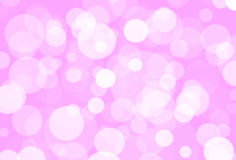 Różowy bokeh obrazy stock