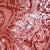 Różowy cekinu tło Obraz Stock