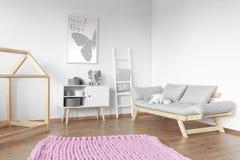 Różowy duży dywan fotografia stock