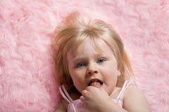 różowy dywanik zdjęcia stock