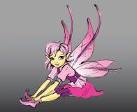 różowy elf ilustracja wektor