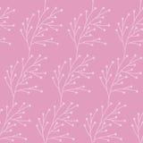 Różowy gałązka wzór zdjęcia royalty free
