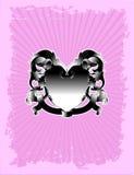 różowy grzebienia zwycięstwo Ilustracja Wektor
