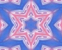 Różowy i błękitny abstrakta wzoru tło ilustracja wektor