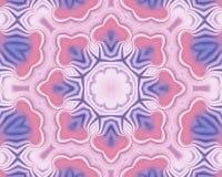 Różowy i błękitny abstrakta wzoru tło ilustracji