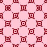Różowy i czerwony abstrakcjonistyczny tło Obrazy Royalty Free