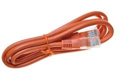 Różowy internetów sieci łaty sznur Zdjęcia Royalty Free