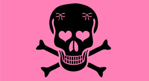 różowy jr ruch punków ilustracji