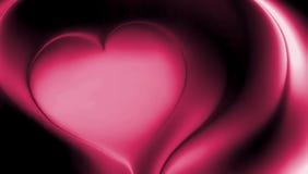Różowy kierowy abstrakcjonistyczny wektor cienił falistą tło tapetę żywa koloru wektoru ilustracja zdjęcie royalty free