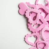 Różowy kierowy kształt Obraz Stock