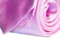 różowy krawat Zdjęcie Royalty Free