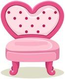 Różowy krzesło ilustracji