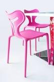 różowy krzesło fotografia royalty free